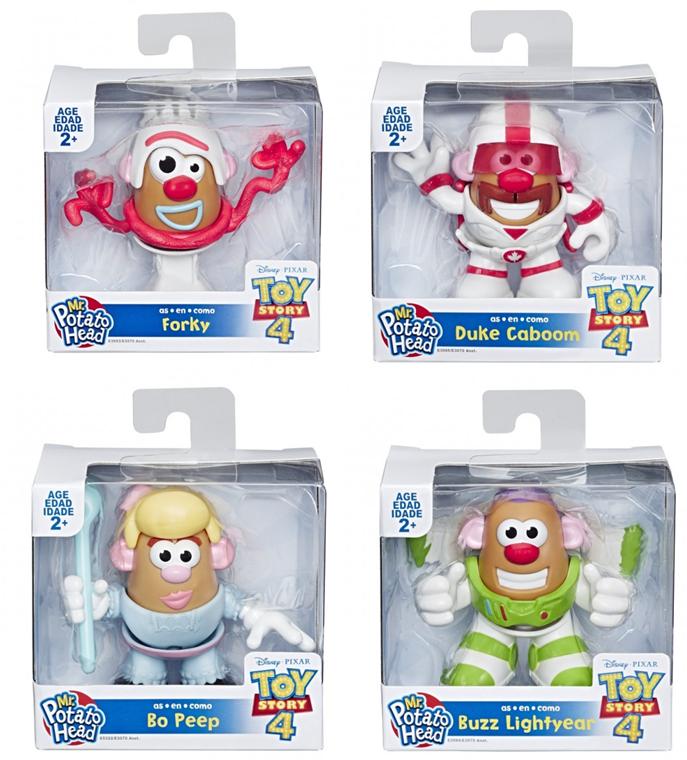 Toy Story 4 Mr Potato Head Mini Character Assorted