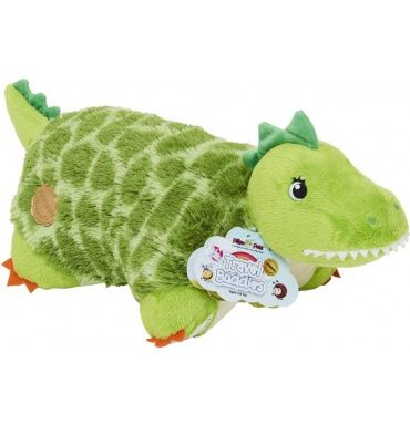 Pillow Pets Travel Buddies Tommy T-Rex 11Inch