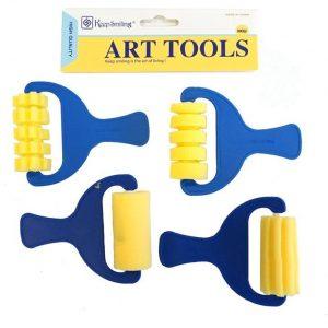 Sponge Patterned Roller Set