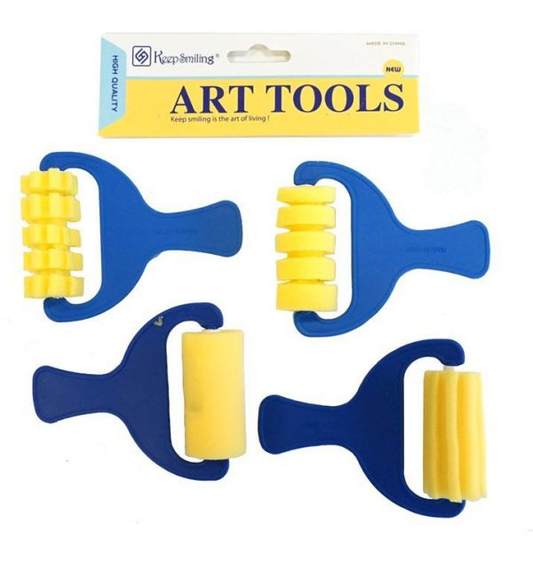 Sponge Patterned Roller Set