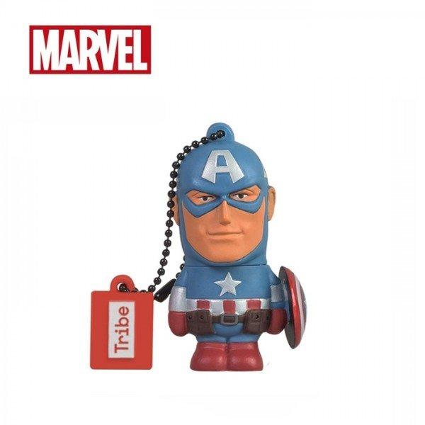 Tribe Marvel Captain America Storage USB 32GB Flash Drive