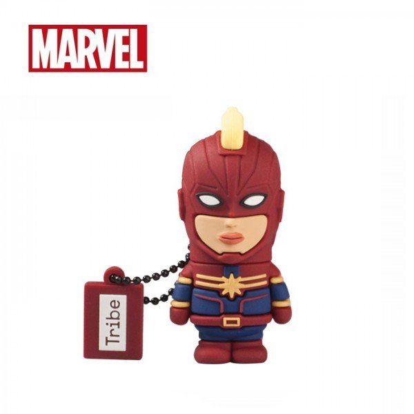Tribe Marvel Captain Marvel Storage USB 32GB Flash Drive Figure