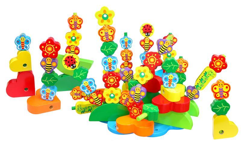 Butterflies in a Garden Set