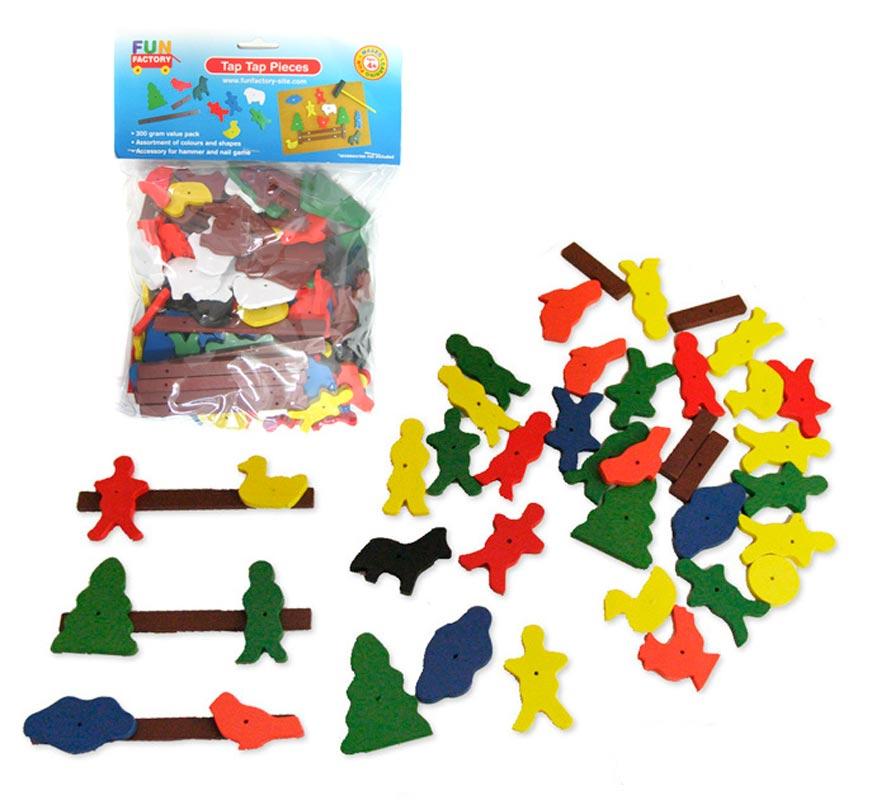 Hammer Nail Animal Pieces 300g