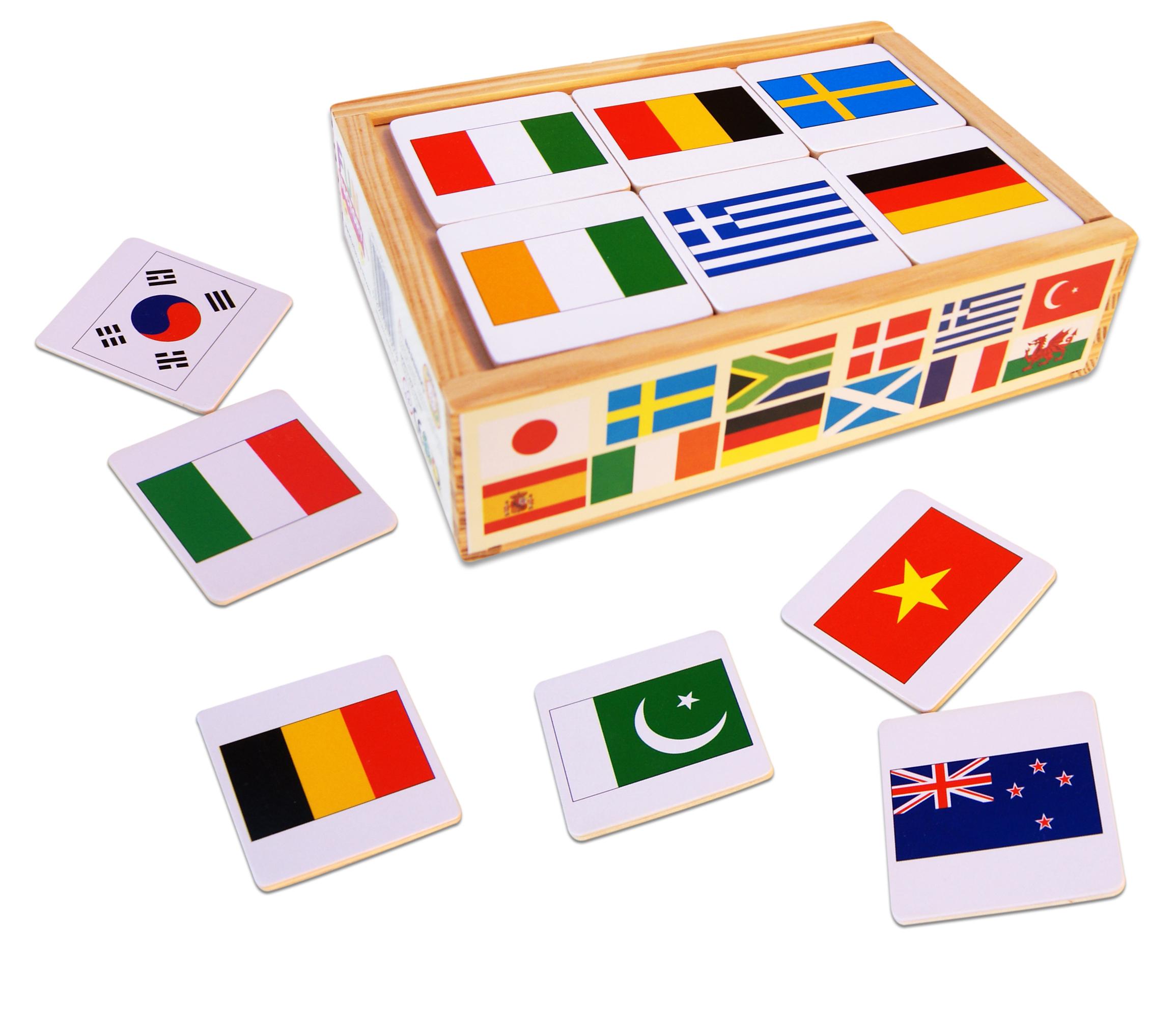International Flag Matching Game