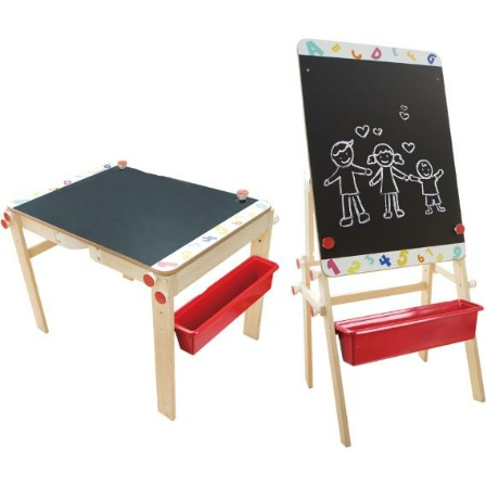 2 in 1 Table & Easel