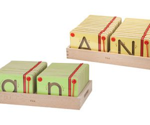 Magnetic Tracing Letters Set