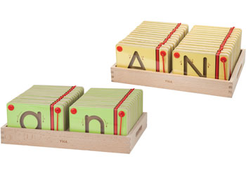 Magnetic Tracing Letters Uppercase and Lowercase Set