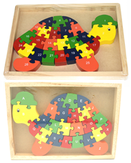 Turtle Jigsaw in Tray – 26 Pieces