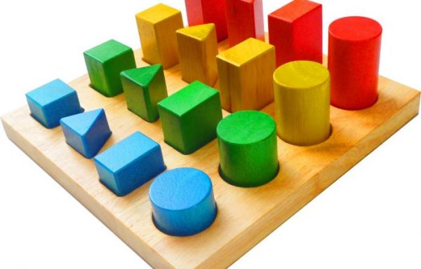 Colour and Shape Sorting Board