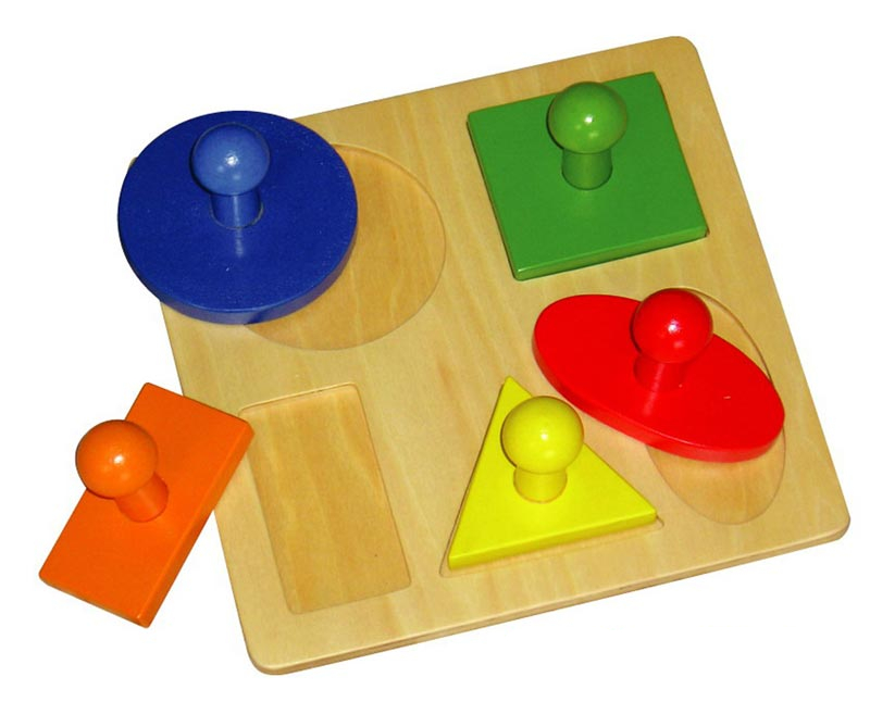 First Shapes Matching Puzzle