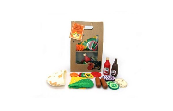 Create Your Own Pocket Bread Kids Playset