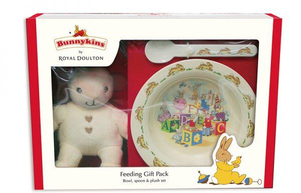 Bunnykins Feeding Gift Pack – Bowl, Spoon & Plush Set