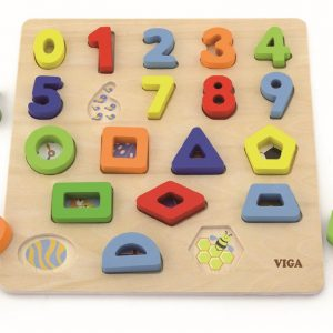 Puzzle Numbers & Shapes