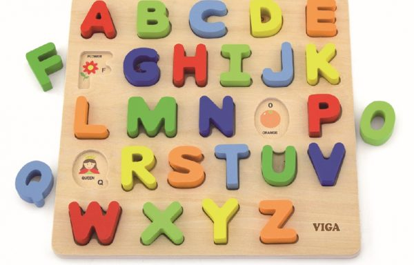 See-Inside Alphabet Uppercase Puzzle