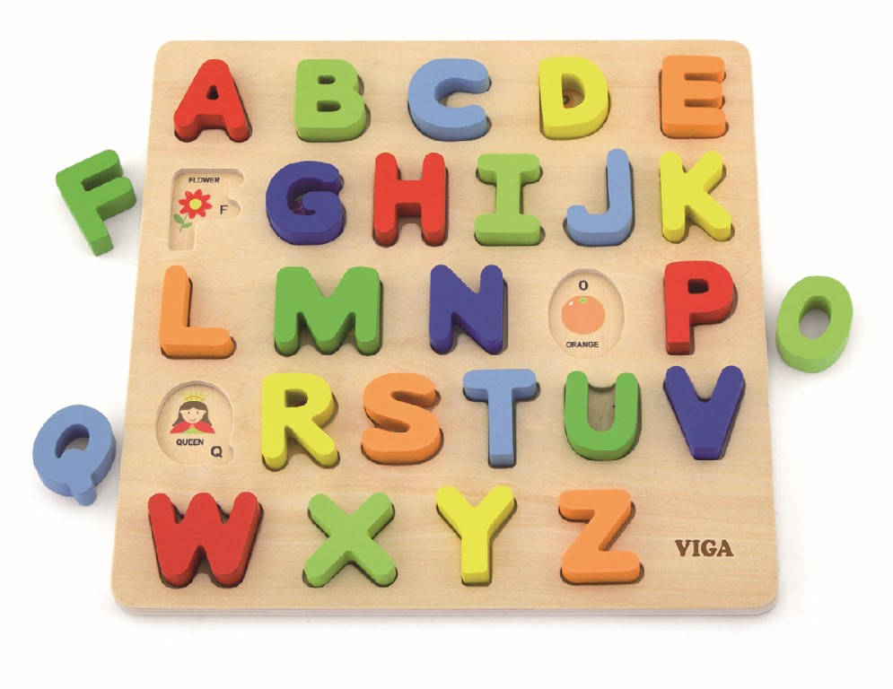 Alphabet Uppercase Puzzle