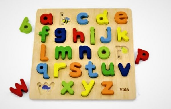 See-Inside Alphabet Lowercase Puzzle