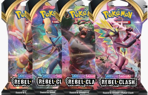 POKÉMON TCG Sword and Shield- Rebel Clash Blister