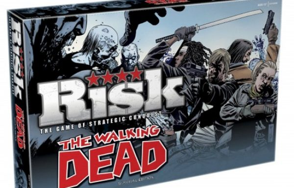 Risk Walking Dead Edition Board Game