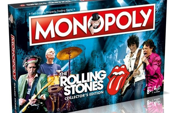 Monopoly The Rolling Stones Music Edition Board Game