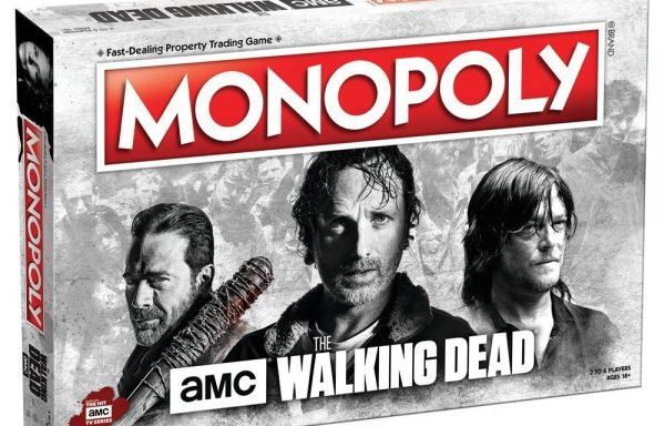 Monopoly The Walking Dead AMC Edition Board Game