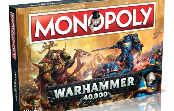 Monopoly Warhammer 40,000 Edition Board Game