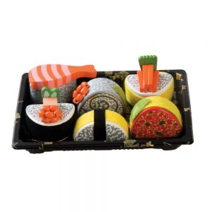Wooden Sushi Plastic Tray