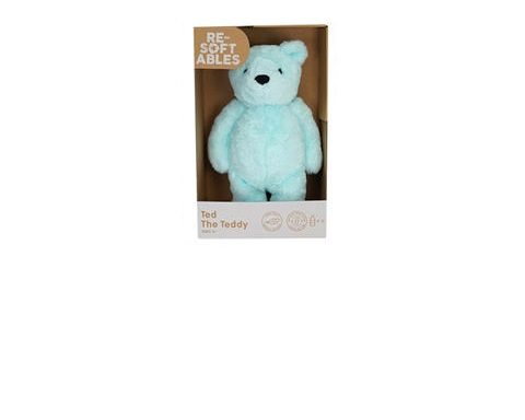 Resoftables Plush Toy Ted the Teddy