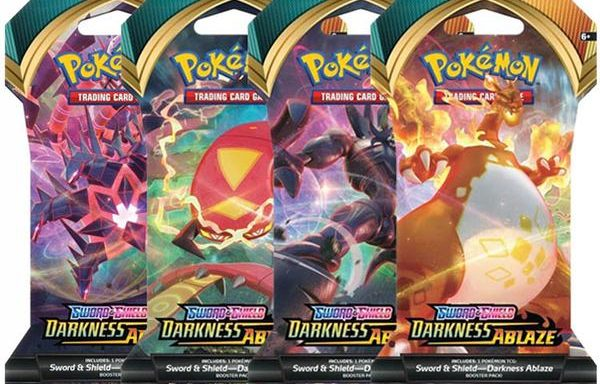 POKÉMON TCG Sword and Shield- Darkness Ablaze Blister