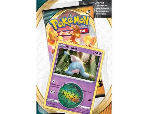 POKÉMON TCG Sword and Shield- Darkness Ablaze Checklane Blister Hatenna