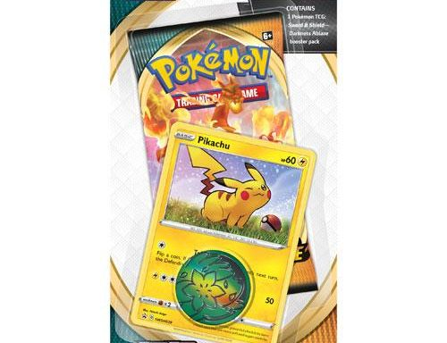 POKÉMON TCG Sword and Shield- Darkness Ablaze Checklane Blister Pikachu
