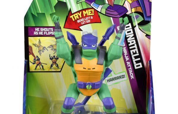 Rise Of The TMNT Deluxe Figures Donatello Back Flip Ninja Attack