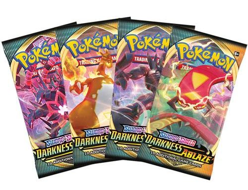 POKÉMON TCG Sword and Shield- Darkness Ablaze Booster