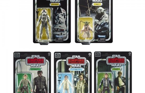 Star Wars Black Series 40th Anniversary E5: Empire Strikes Back 6″ Action Figure Wav Full Case (5 Figures)