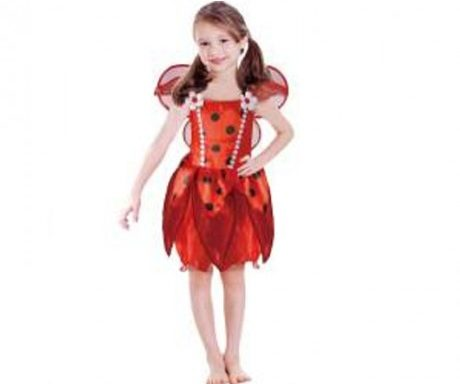 Lady Bug Costume Small