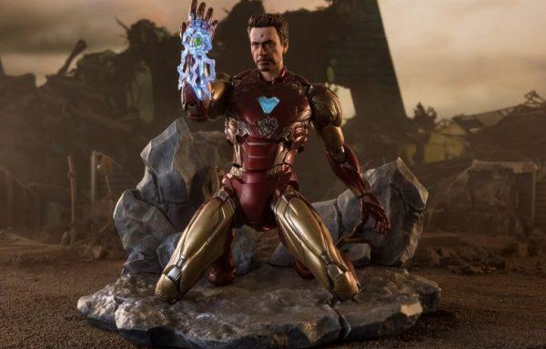 S.H.FIGUARTS Avengers: Endgame Iron Man MK-85 I am Iron Man Edition