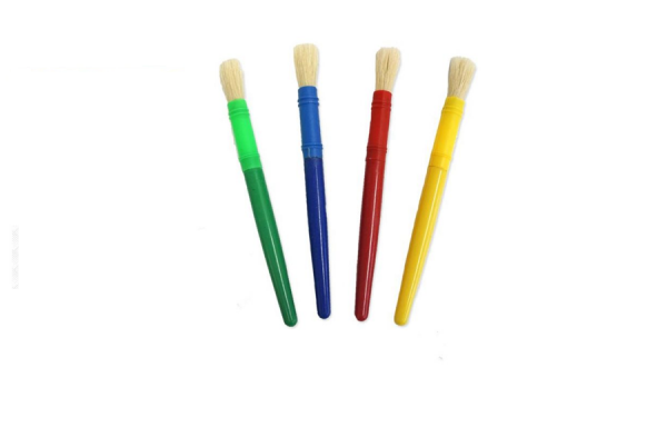 Educational Colours Jumbo Paintbrush 4 Pack