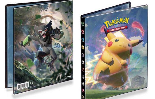 ULTRA PRO Pokémon – Portfolio 4PKT Sword and Shield 4 – Vivid Voltage