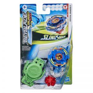 Beyblade Burst Turbo Slingshock Crystal Dranzer F Starter Pack