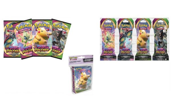 Pokemon TCG Vivid Voltage Booster Birthday Bundle 1