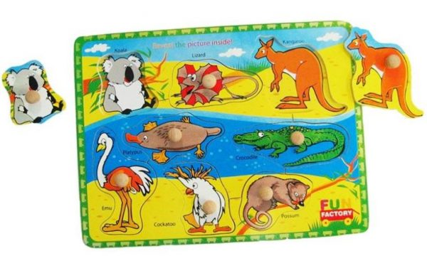 Puzzles Australian Animals