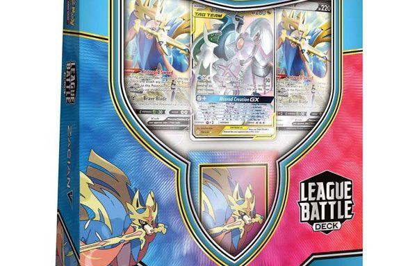 POKÉMON TCG League Battle Deck- Zacian V