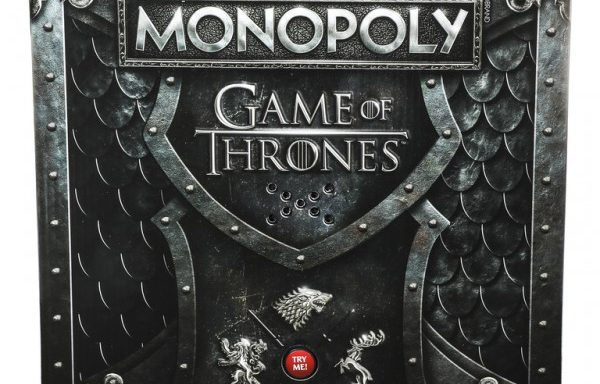 Monopoly Game of Thrones Edition Board Game with Musical Stand
