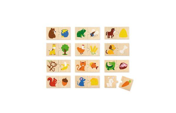 Animal Feeding Puzzle Set