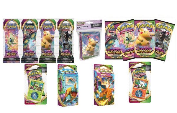 Pokemon TCG Vivid Voltage Booster Birthday Bundle 2
