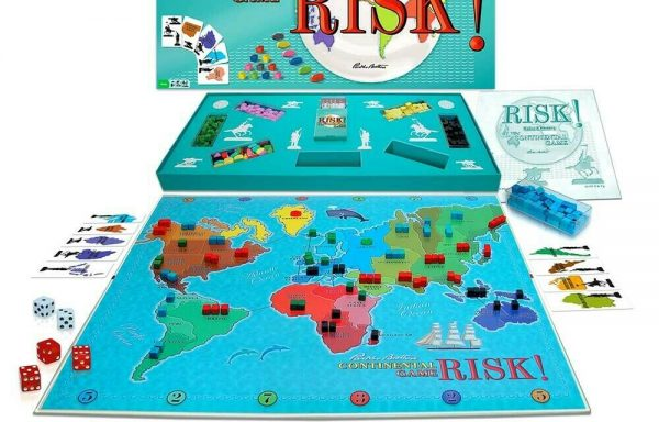 Risk! 1959 First Edition Classic Board Game