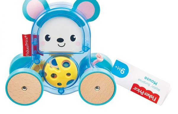 Fisher-Price Rollin Surprise Mouse Toy