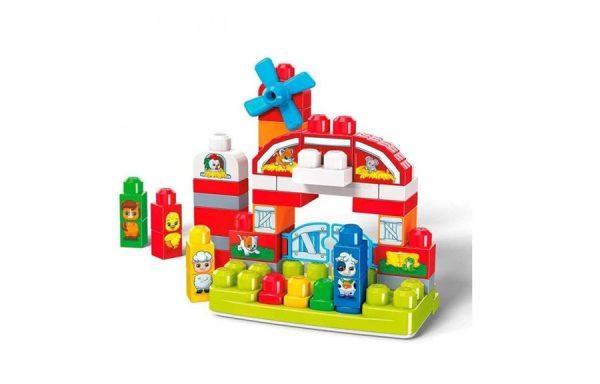 Mega Bloks Musical Farm Building Set