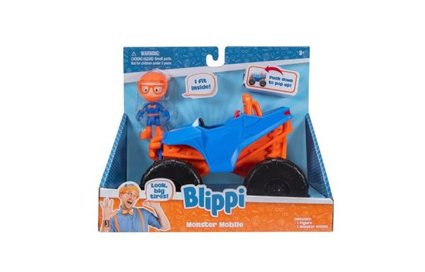 Blippi Monster Mobile Toy Vehicle