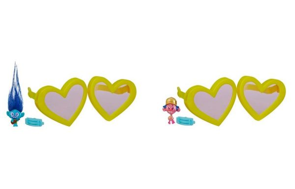 Trolls Tiny Dancers Yellow Heart